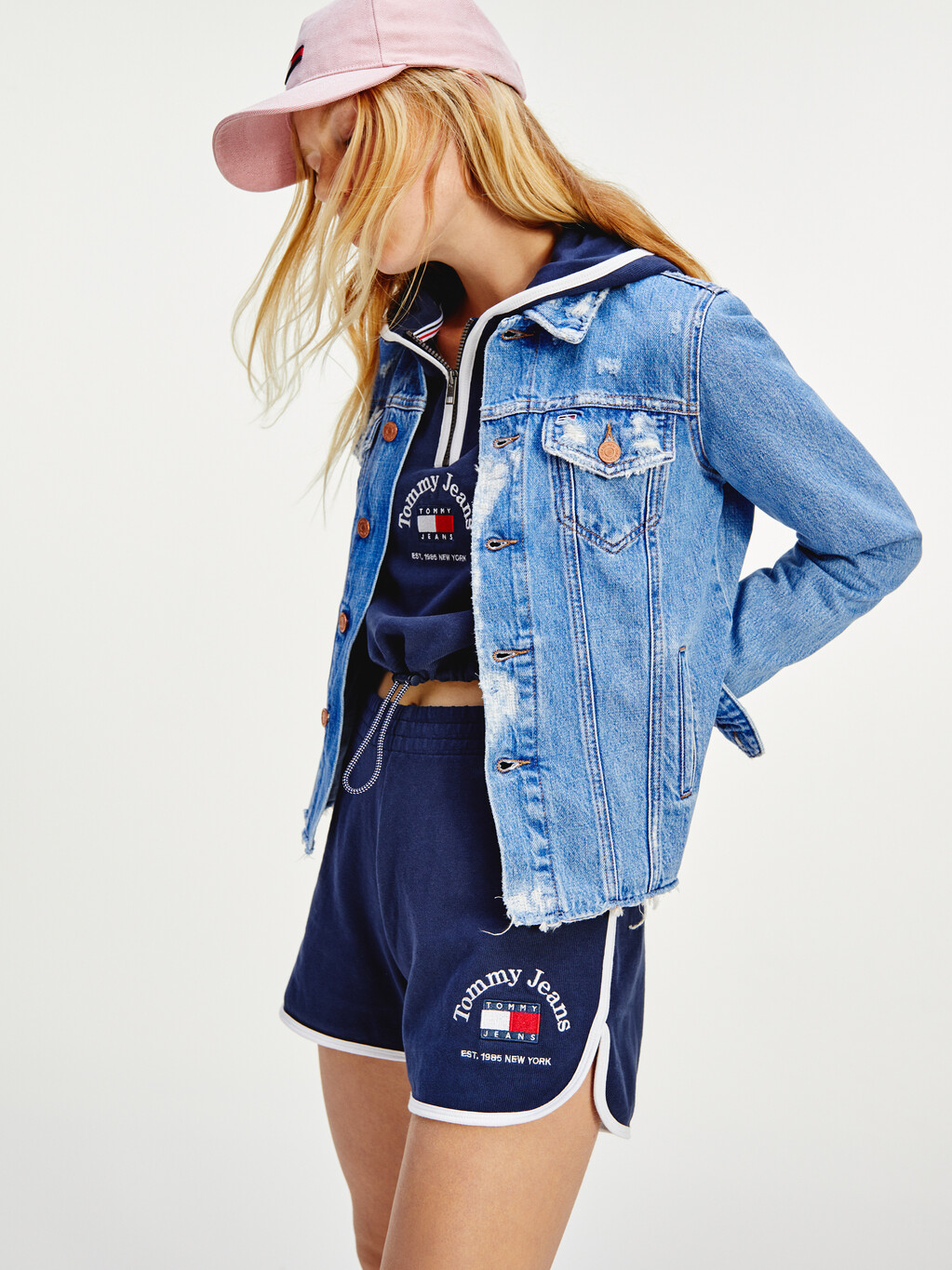 Tommy Badge Knit Shorts
