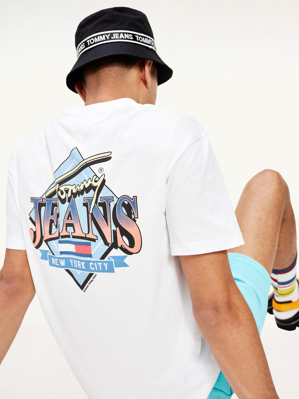 Organic Cotton Back Graphic T-Shirt