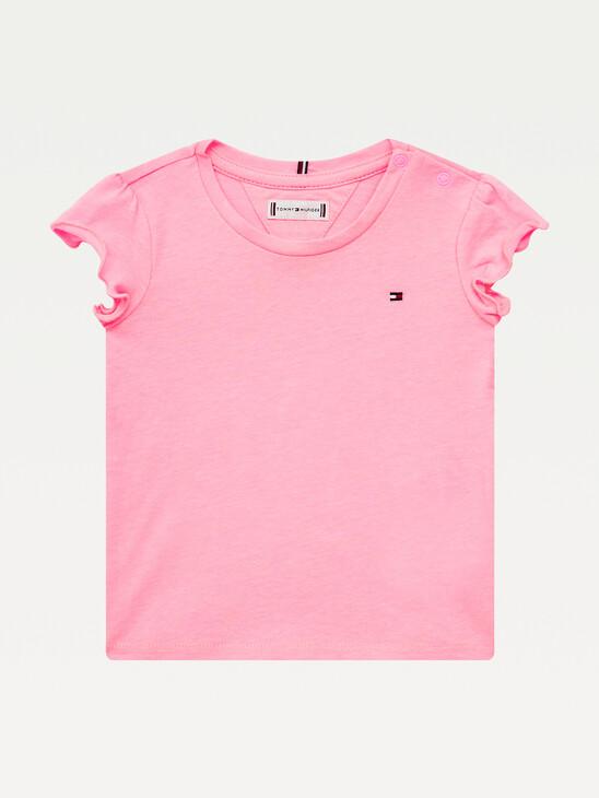 Essential Ruffle Cuff T-Shirt