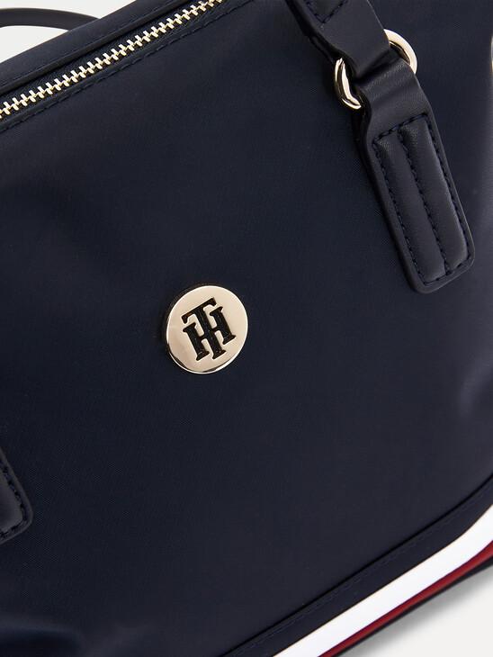 Small Signature Monogram Tote Bag