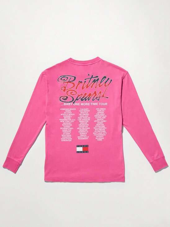 Tommy Revisited Long Sleeve Britney Oversized T-Shirt