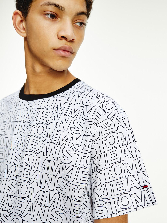 Organic Cotton Logo Print T-Shirt