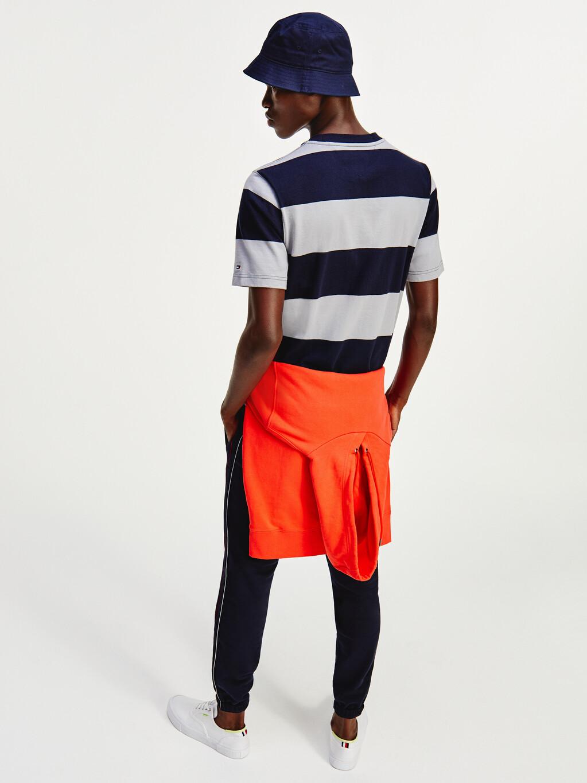 Colour-Blocked Organic Cotton T-Shirt