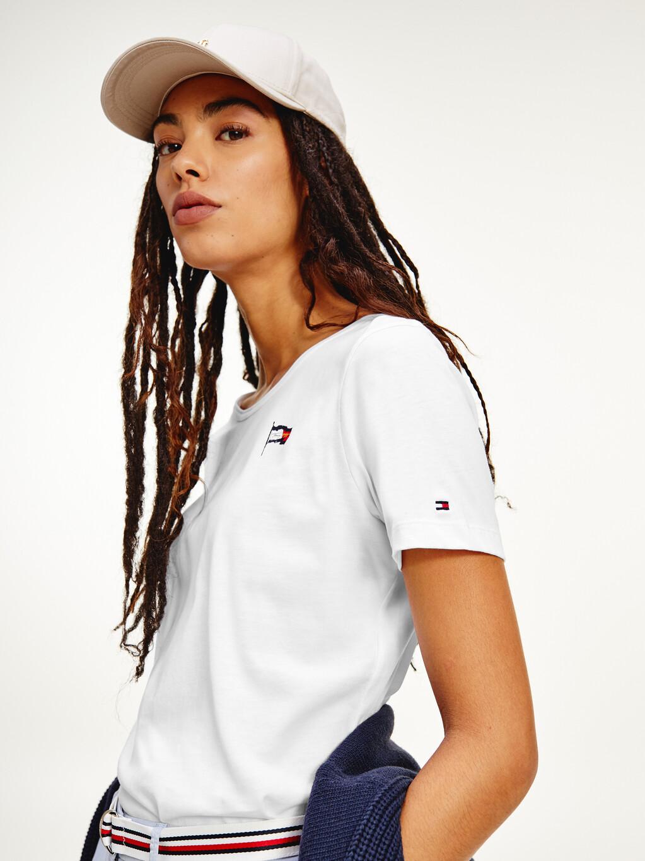 Organic Cotton Motion Flag T-Shirt