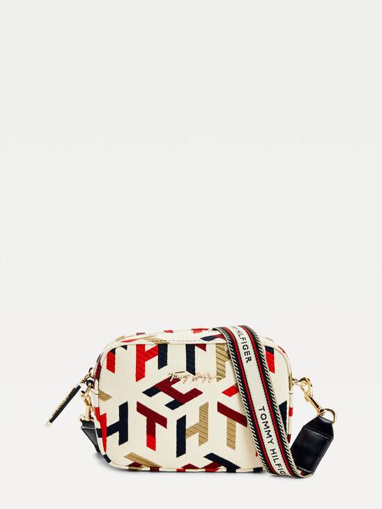 Iconic Monogram Embroidery Camera Bag