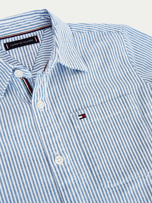 Ithaca Short Sleeve Oxford Shirt