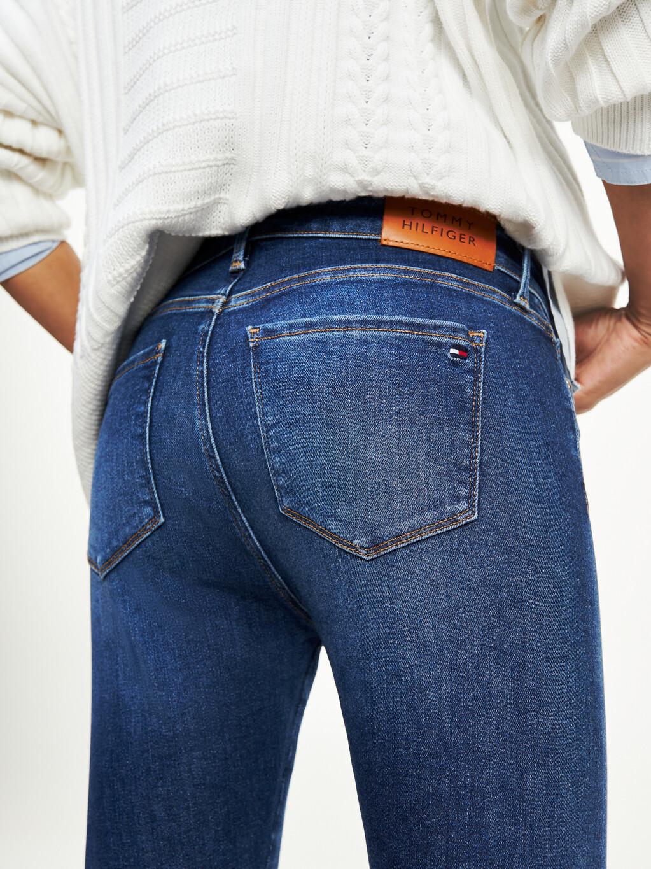 Como High Rise Skinny TH Flex Jeans