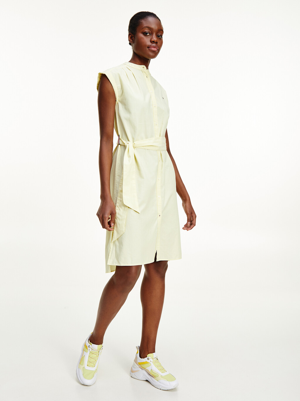 Oxford Relaxed Fit Shirt Dress