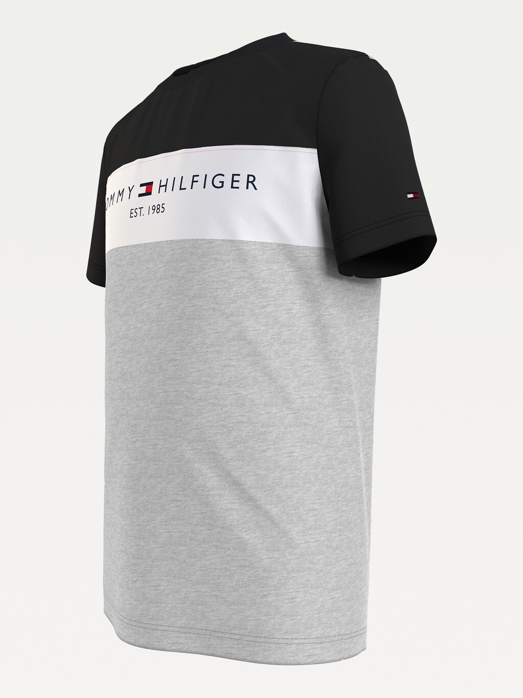 Essential Colour-Blocked Organic Cotton T-Shirt