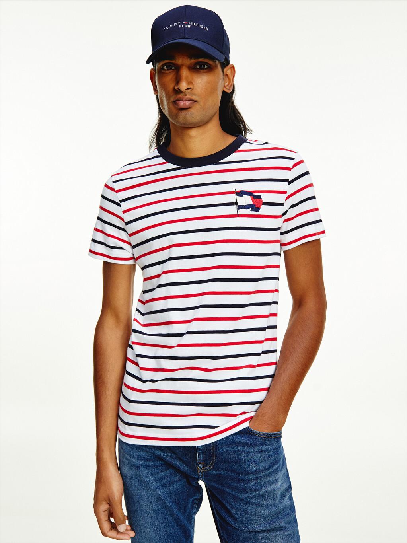 Motion Flag Stripe T-Shirt