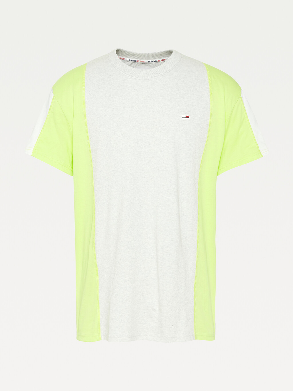 Organic Cotton Colour-Blocked T-Shirt