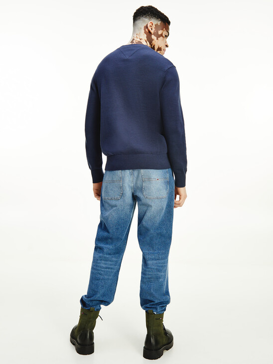 Crew Neck Relaxed Fit Jumper