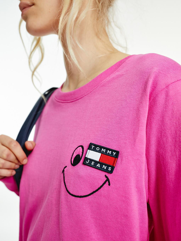 Smiley Badge Long Sleeve T-Shirt
