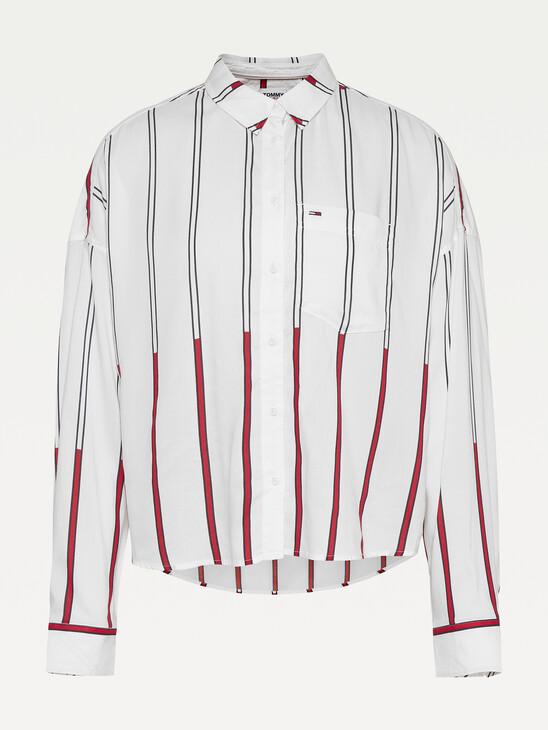 Boxy Stripe Shirt
