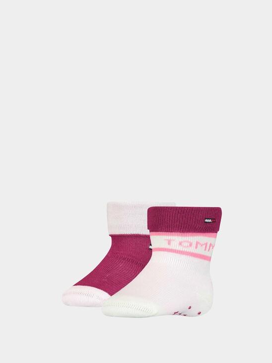 2-Pack Folded Welt Baby Socks
