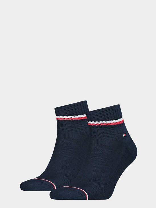 Iconic Quarter Socks