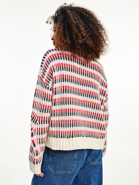 Multicolour Mixed Knit Jumper