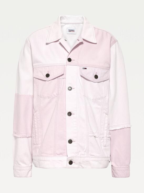 Waterless Dye Oversized Fit Trucker Jacket