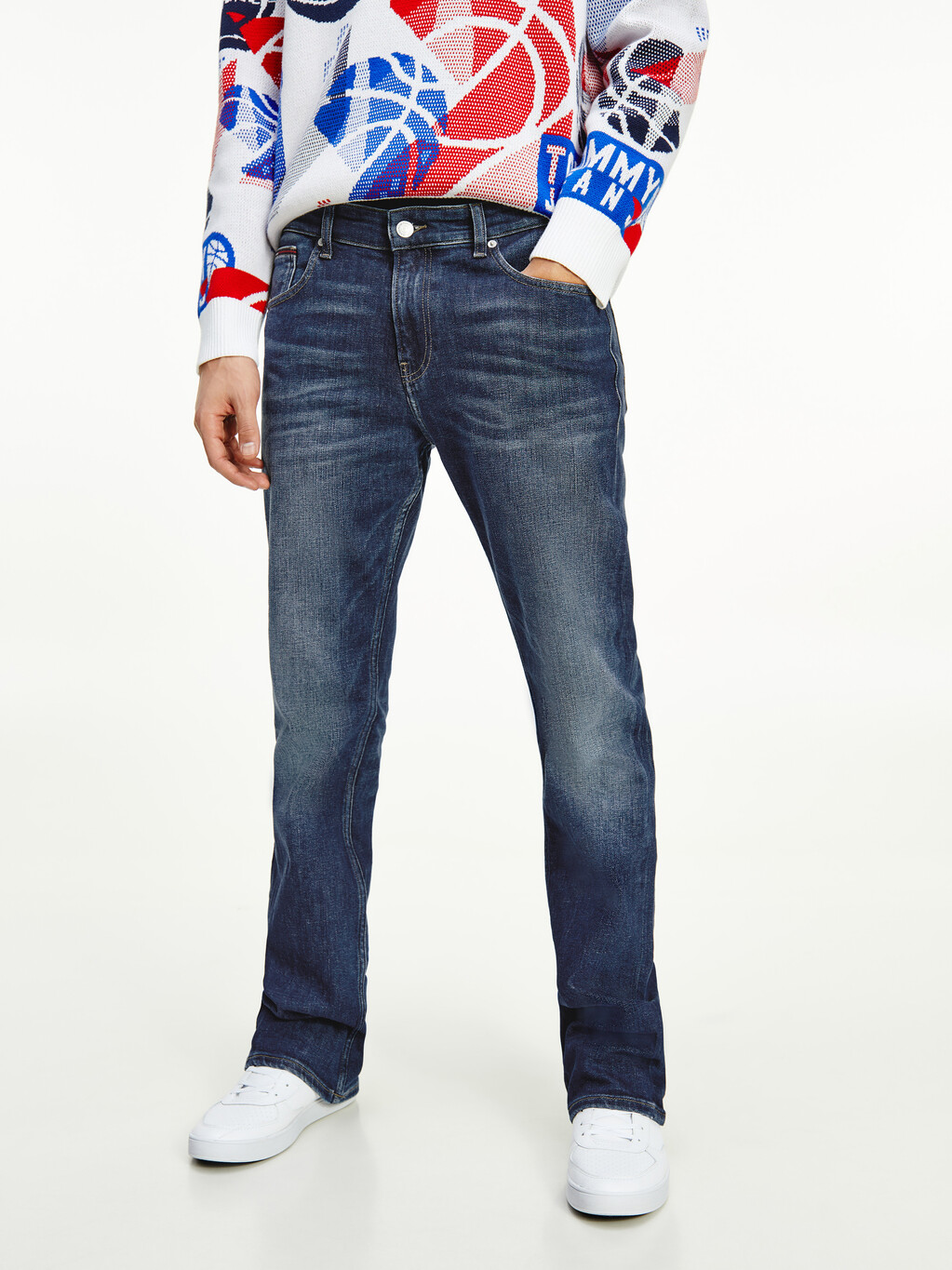 Ryan Bootcut Faded Jeans