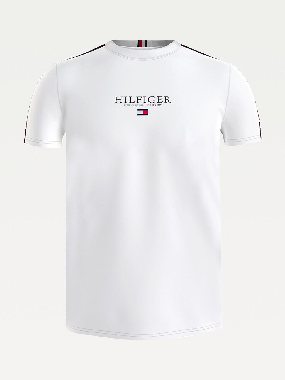 Contrast Tape Logo T-Shirt