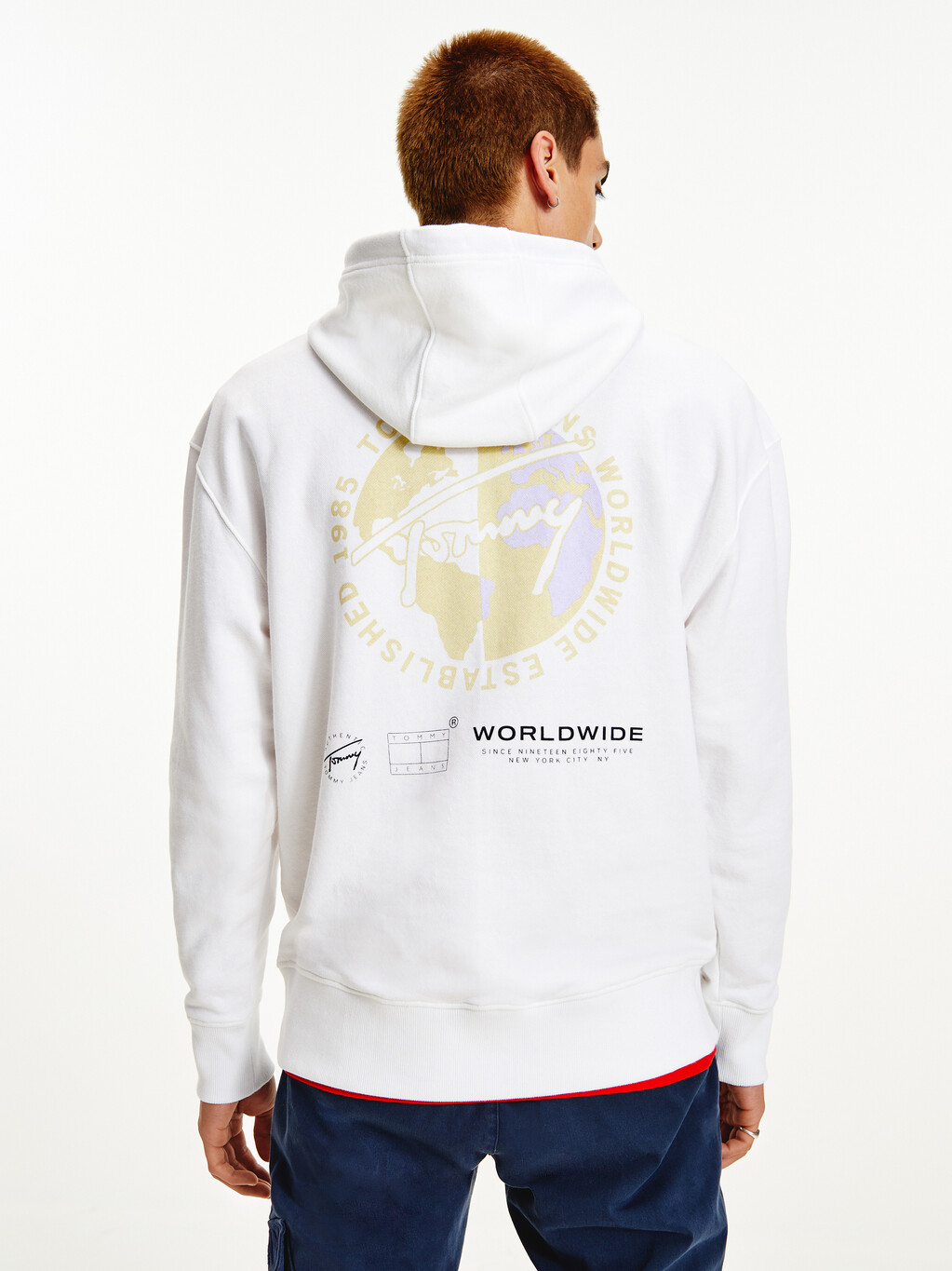 Logo Relaxed Fit Hoody