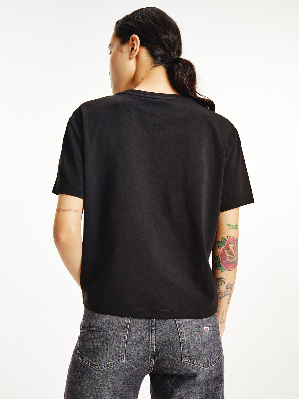 Tommy Badge Crew Neck T-Shirt