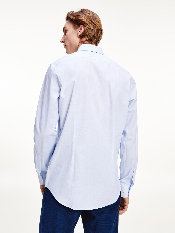 Geo Print Slim Fit Cotton Shirt