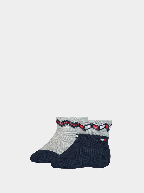2-Pack Fair Isle Baby Socks