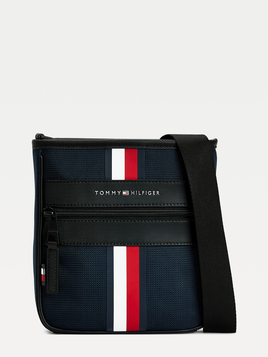 Small Signature Tape Crossover Bag