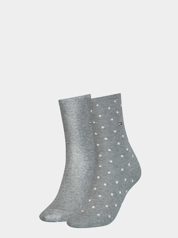 2-Pack Dot Crew Socks