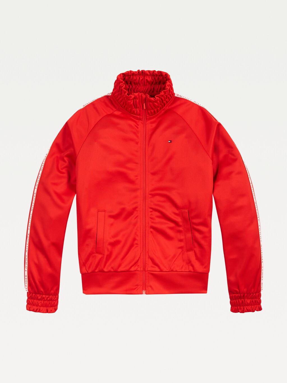 Zip-Thru Tracksuit Jacket