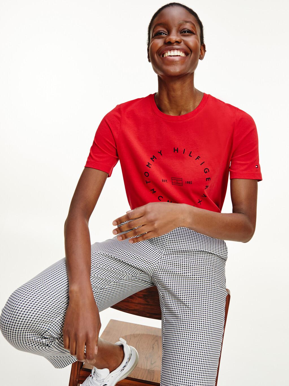 Circle Logo Organic Cotton T-Shirt