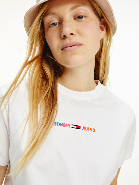 Logo Boxy Cropped T-Shirt