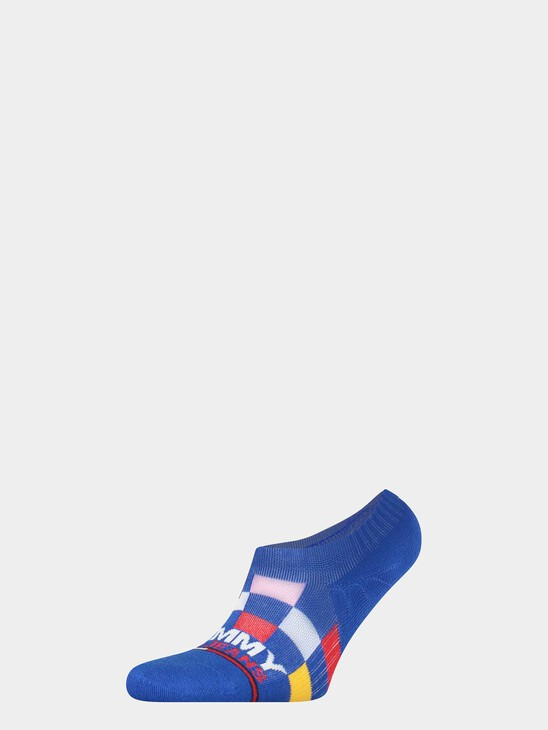 Racer Check Sneaker Socks