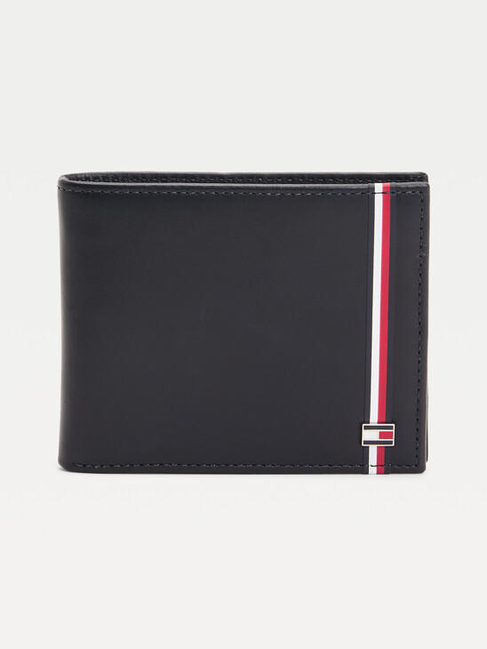 TH Established Signature Small Leather Wallet