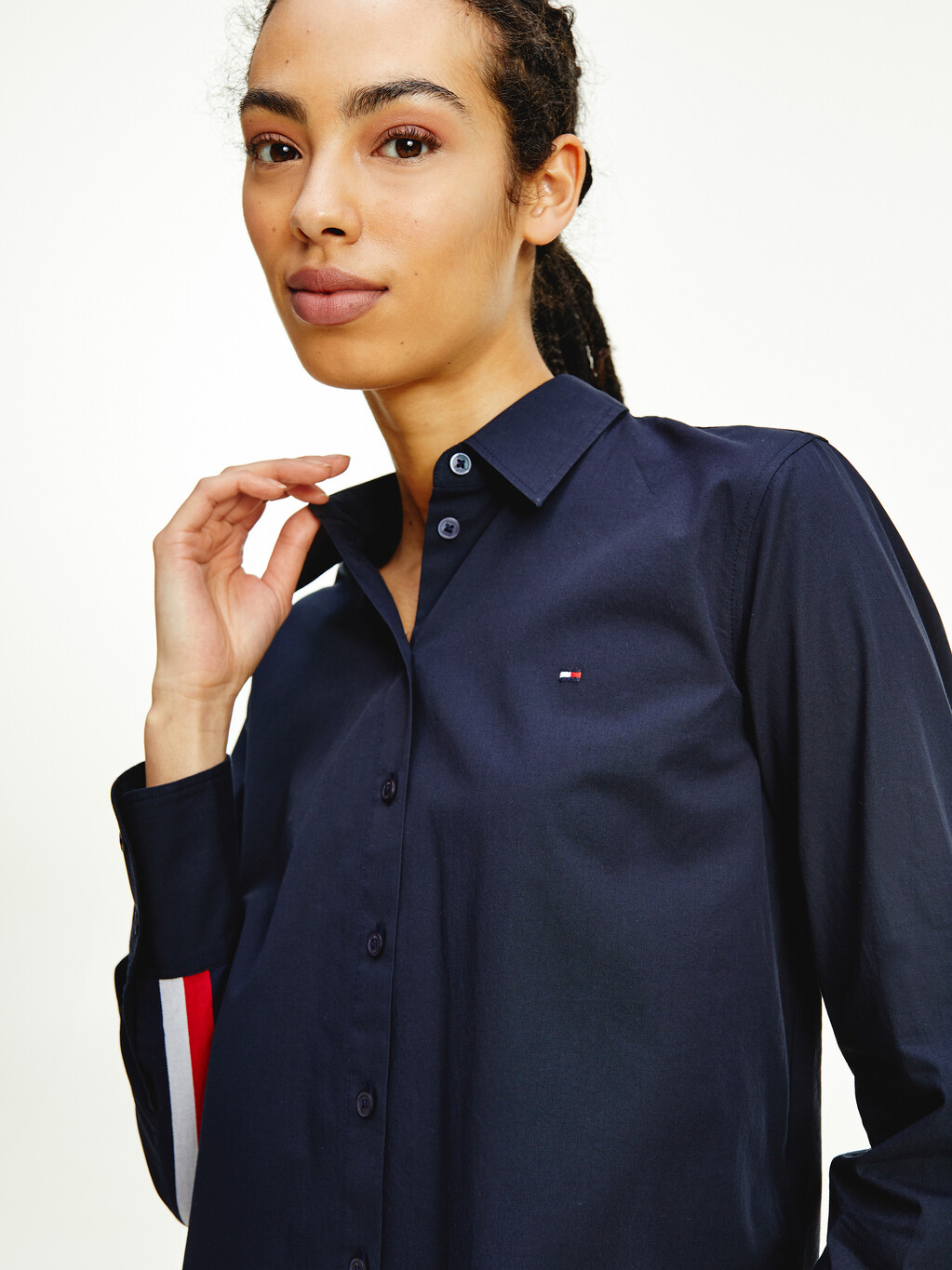 Signature Tape Relaxed Fit Shirt