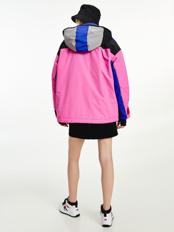 Colour-Blocked Tommy Badge Jacket