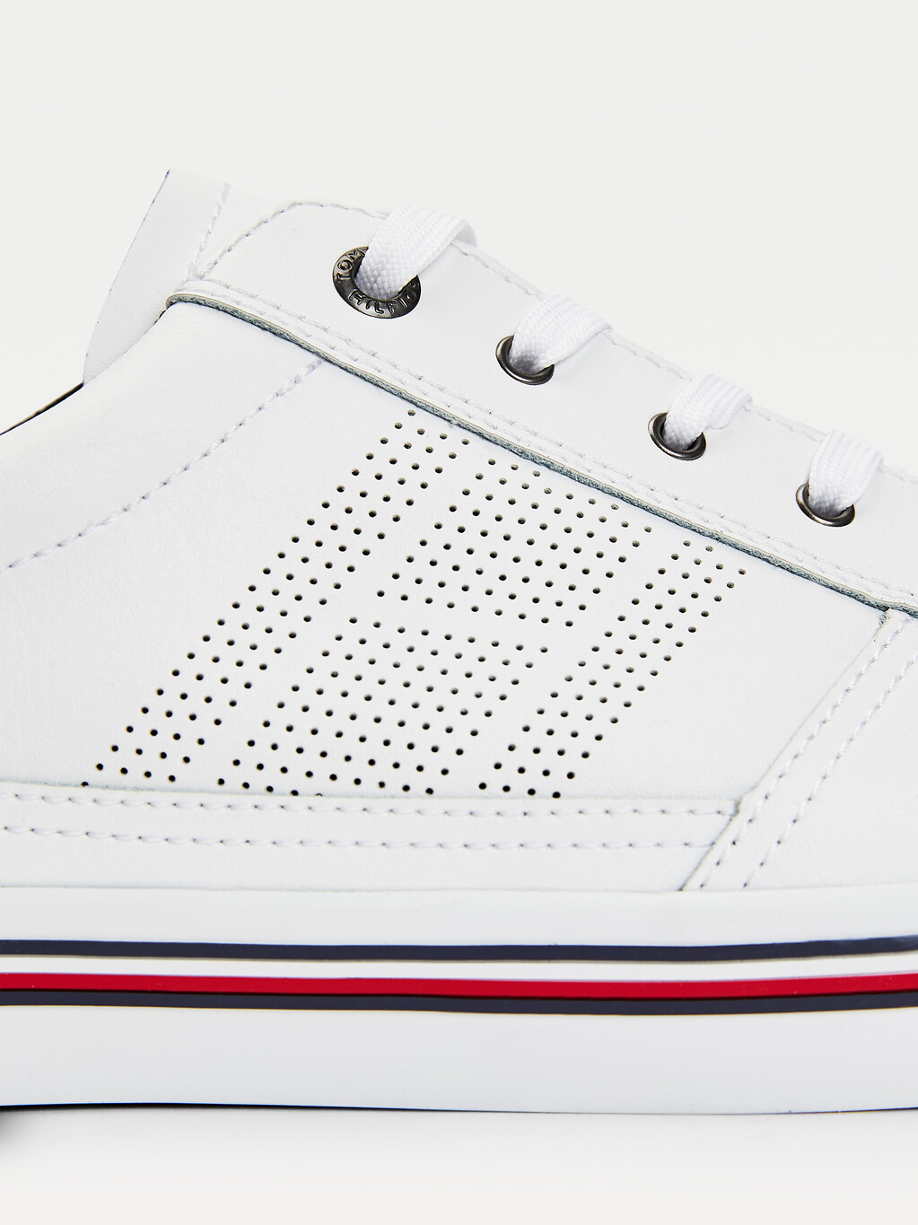 Signature Outsole Leather Trainers
