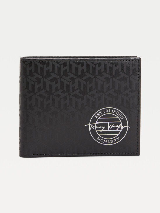 All-Over Monogram Card and Coin Wallet