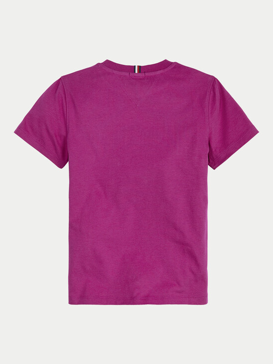 Appliqué Logo Organic Cotton T-Shirt