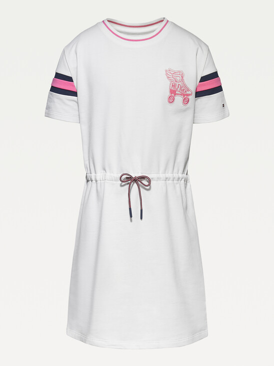 Organic Cotton Terry Skater Dress