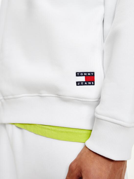 Tommy Badge Fleece Sweatshirt