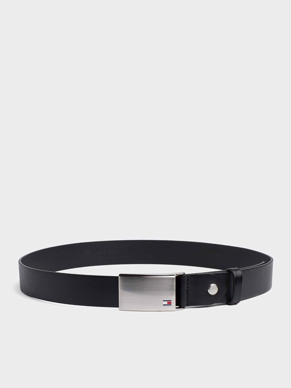 Adjustable Logo Plaque Belt