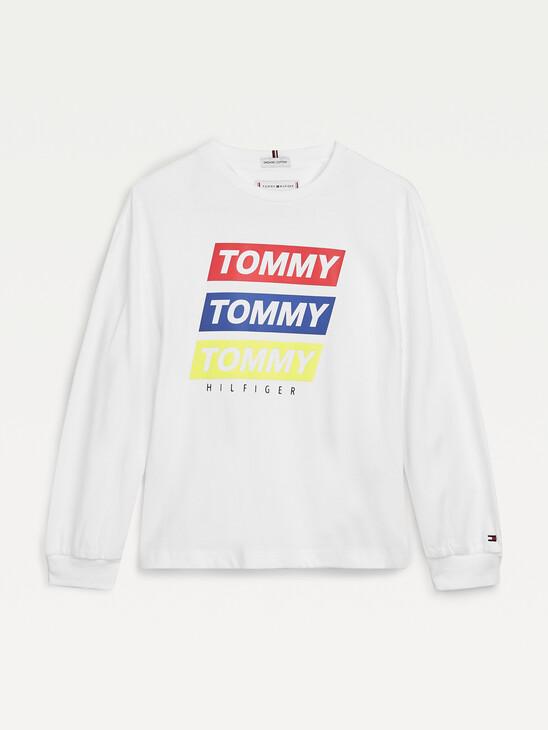 Graphic Print Long Sleeve T-Shirt