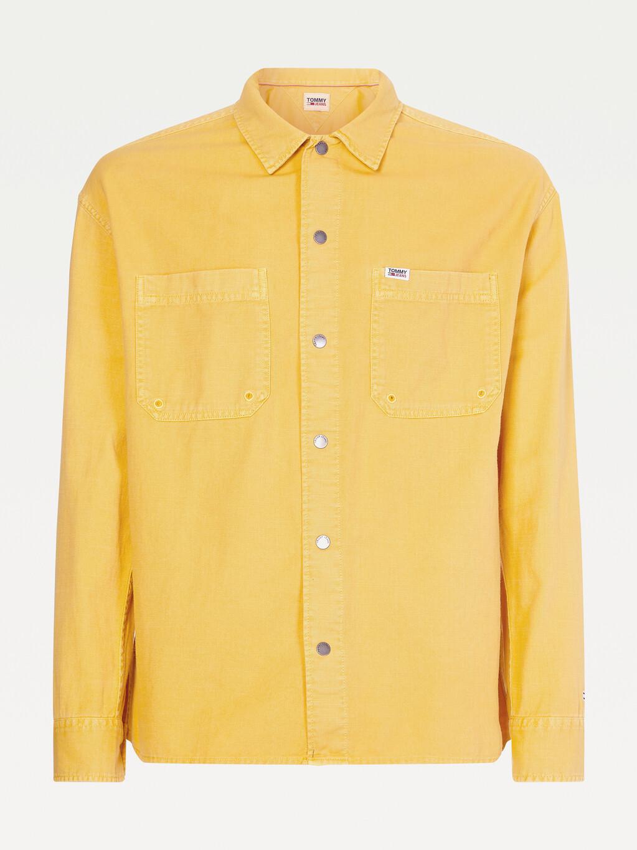 Lightweight Slub Cotton Overshirt