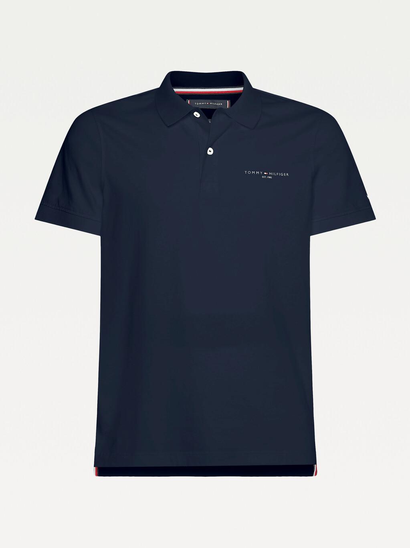 Slim Fit 1985 Logo Jersey Polo