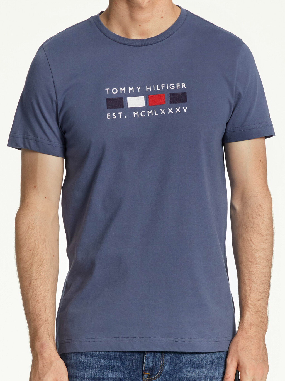 Logo Embroidery Pure Organic Cotton T-Shirt
