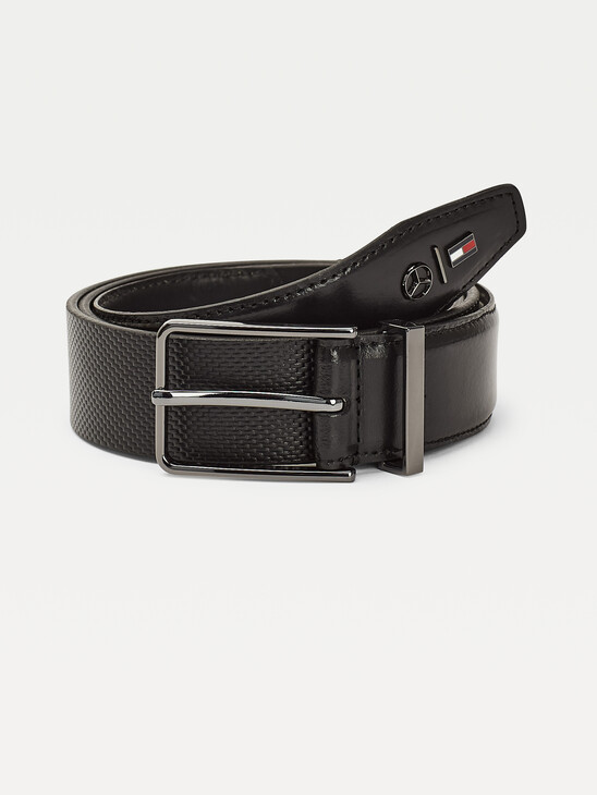 Mercedes-Benz Logo Leather Belt