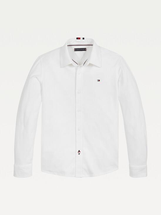 Organic Cotton Pique Shirt