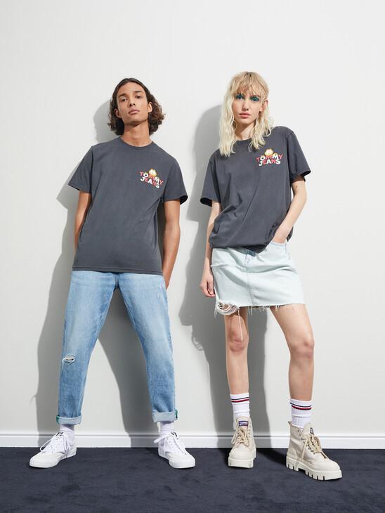 Tommy Jeans X Garfield Logo Unisex T-Shirt